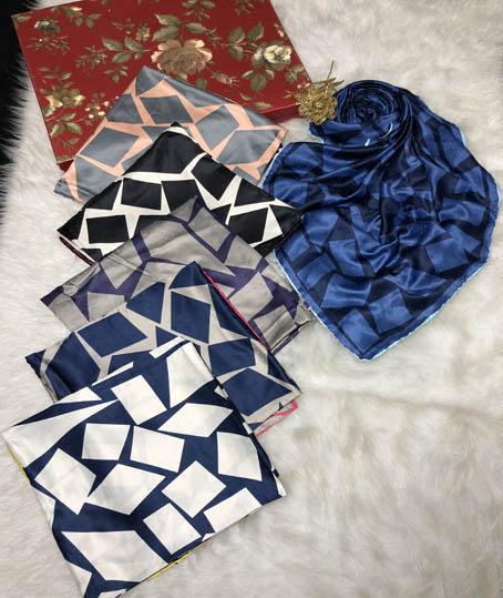 روسری رایون سوزنی کد 7330