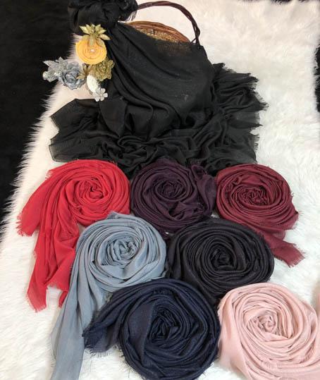 روسری نخی لمه کد 5940