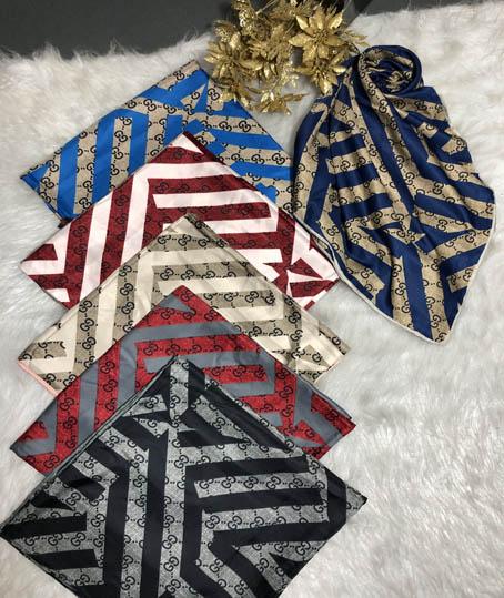 روسری ابریشم رایون مارک GUCCI کد 7100
