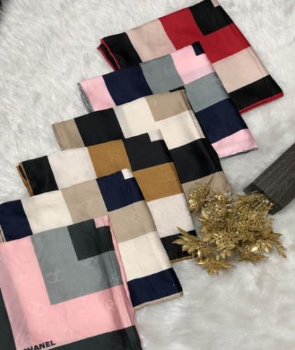روسری رایون سوزنی کد 7180